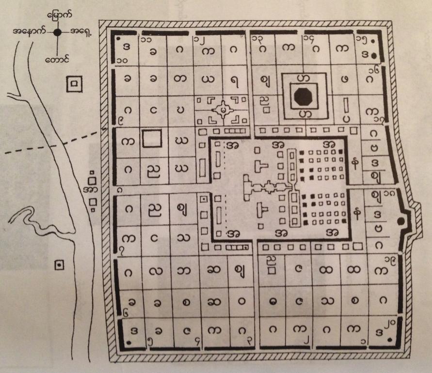 Plan of Bago 1568