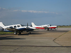 Lydd Airport - Aircraft at Lydd in 2010