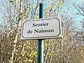 Plaque Sentier Naiman St Cyr Menthon 2011-11-23.jpg