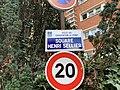 Plaque Square Henri Sellier - Charenton-le-Pont (FR94) - 2020-10-15 - 1.jpg