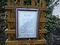 Plaque about Rev Bede, Gospel Gardens, Holy Island - geograph.org.uk - 1239895.jpg