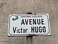Plaque avenue Victor Hugo Fontenay Bois 2.jpg