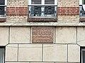 Plaque de la maison natale de Robert Doisneau.jpg