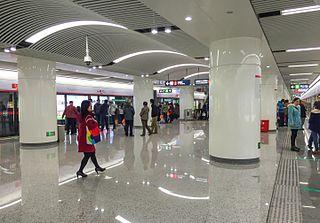 Dongjiekou station Fuzhou Metro station