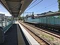 Platform of Shimo-Yamato Station 3.jpg