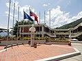 Plaza central de la facultad de Ciencias políticas y jurídicas ULA.jpg