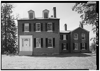 Pleasant Hills (Upper Marlboro, Maryland) United States historic place