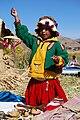 Plovoucí ostrovy Uros na jezeře Titicaca - panoramio.jpg