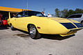 Plymouth Roadrunner Superbird 1970 Lemon Twist Yellow FrontR TBS 09Feb2014 (14586363355).jpg