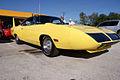 Plymouth Roadrunner Superbird 1970 Lemon Twist Yellow FrontR TBS 09Feb2014 (14586363355).jpg