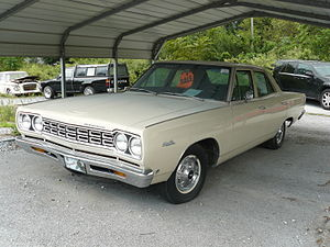 Plymouth Satellite - 1968 Plymouth Satellite 4-door sedan