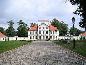 Bug Landscape Park - The Palace in Sterdyń