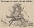 Political cartoon of Franz Joseph I of Austria 1861.png