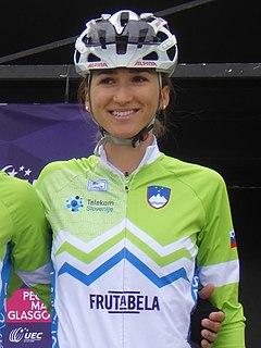 Polona Batagelj Slovenian road bicycle racer
