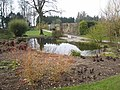 Pond and walled garden, Threave House - geograph.org.uk - 382628.jpg