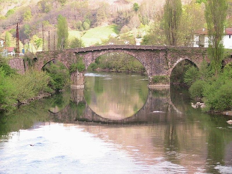 Pont Noblia, Bidarray.