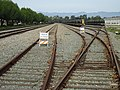 Port Hueneme, CA Seabee Base Railroad with Tanks on Flat cars DODX JAN 2012 - panoramio.jpg