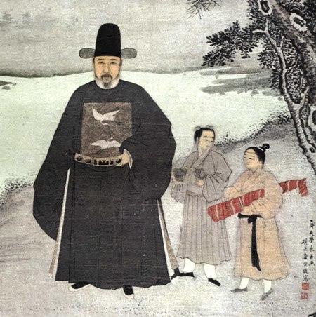 Portrait of Jiang Shunfu