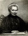 Portrait of Marie Curie (1867 - 1934), Polish chemist Wellcome V0026232.jpg