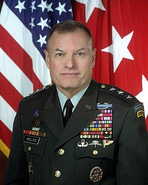 Keith Kellogg - Image: Portrait of U.S. Army Lt. Gen. Joseph K. Kellogg