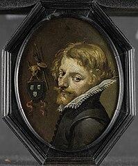 Portrait of a painter (self-portrait?)