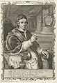 Portret van paus Clemens XIV Clemens XIV. P.M. (titel op object), RP-P-1908-874.jpg