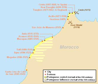 Pope Nicholas V - Portuguese possessions in Morocco (1415–1769)