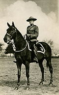RCMP officer, circa 1917.
