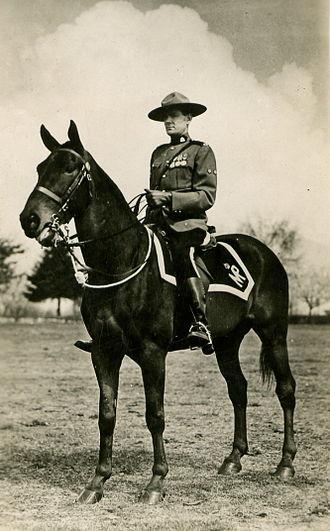 Aylesworth Bowen Perry - RCMP postcard circa 1920
