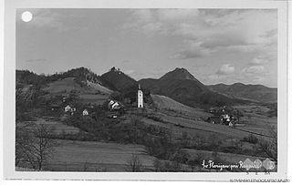 Sveti Florijan Village in Styria, Slovenia