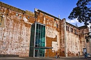 Brisbane Powerhouse - Building entrance