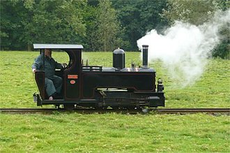 Rhiw Valley Light Railway - Image: Powys right side view