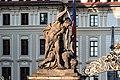 Praha, Hradčany Hradčanské náměstí, Pražský hrad 20170905 003.jpg
