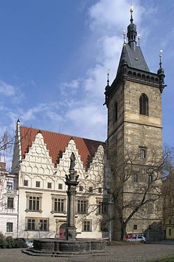 Praha, Nove Mesto - Novomestska radnice III.jpg