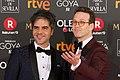 Premios Goya 2018 - Ernesto Sevilla y Joaquín Reyes 01.jpg