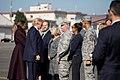 President Donald J. Trump and First Lady Melania Trump depart Japan for South Korea, November 7, 2017 (38248356221).jpg