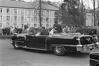 Phaeton body - Cadillac phaeton carrying President Johnson, 1967
