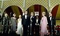 "President Richard Nixon Sings ""God Bless America"" with Composer Irving Berlin during the Vietnam POW Dinner at the White House.jpg"