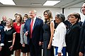 President Trump and the First Lady in Dayton, Ohio (48482704577).jpg