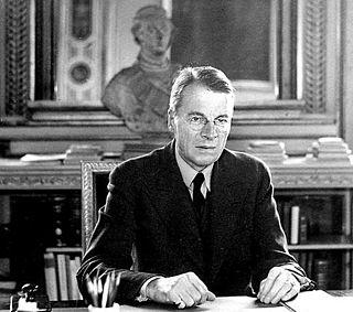 Christian Günther Swedish politician