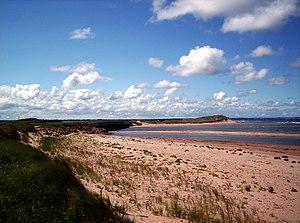 A beach near Stanhope, Prince Edward Island, C...