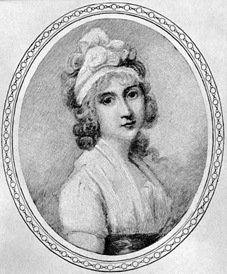 Angelica Schuyler Church - Image: Print after a painting of Angelica Church by Richard Cosway, circa 1790