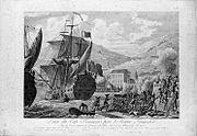 Prize du Cap Français par l'armée française (1802) .jpg
