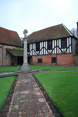 Prittlewell Priory - Prittlewell Priory in 2008 – cloister area and claustral buildings