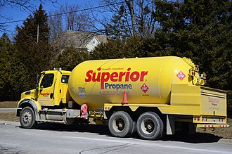 Propane - A local delivery truck