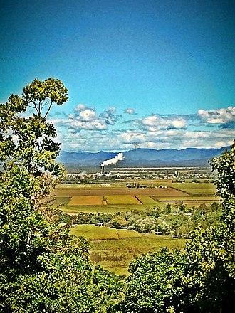 Proserpine, Queensland - Proserpine viewed from Tawvale Heights.