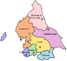 The Diocese of Hallam within the Province of Liverpool