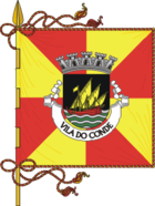 Flagge von Vila do Conde