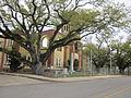 Pt a la Hache Mch 2012 Courthouse corner.JPG