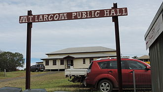 Mount Larcom, Queensland - Public hall, 2014